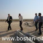 کارهای صورت گرفته شهرداری بستان درپارکنیگ جدیدالاحداث زواراربعین حسینی