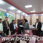 آیین معارفه شهردار جدید شهر بستان برگزارشد