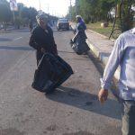 شهردار بستان : مسیر زوار اربعین در شهر بستان توسط نیروهای خدماتی به صورت مستمر پاکسازی می شود