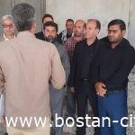 با همراهی شهردار بستان  استاندار خوزستان از مواکب اربعین حسینی چذابه بازدید کرد