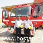 بازسازی و نوسازی یک دستگاه خودروی اطفاء حریق بالغ بر۴۰میلیون تومان