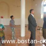 رنگ آمیزی مسجد اهل بیت(ع) کوی عیله همزمان با تعطیلات عیدنوروزتوسط شهرداری بستان
