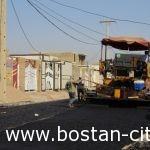 خیابانهای مسکن مهربستان آسفالت شدند