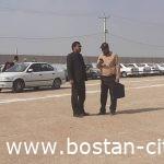 شهردار بستان از پارکینگ خودروهای زوار اربعین حسینی چذابه بازدید کرد