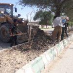 گزارش تصویری از فعالیت واحدها مختلف شهرداری بستان