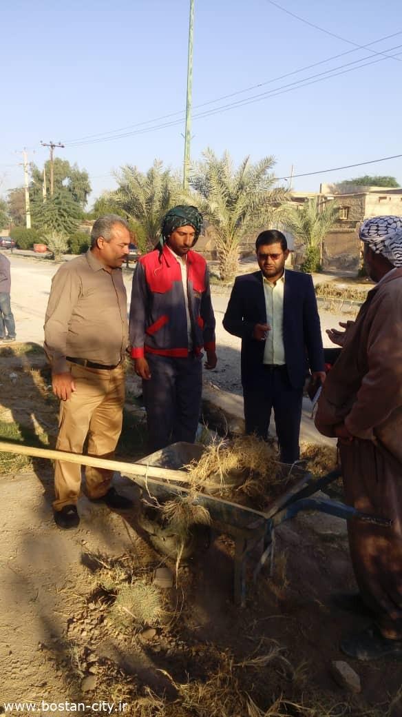 گزارش تصویری : نظارت مستمر شهردار بستان بر عملکرد واحدهای اجرایی این شهرداری