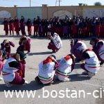 بیست ویکمین  مانور سراسری مقابله با زلزله و ایمنی مدارس همزمان با  سراسر کشوردر شهر بستان برگزار شد.